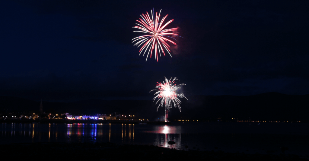 Maiden of the Mournes 2018 Fireworks Display