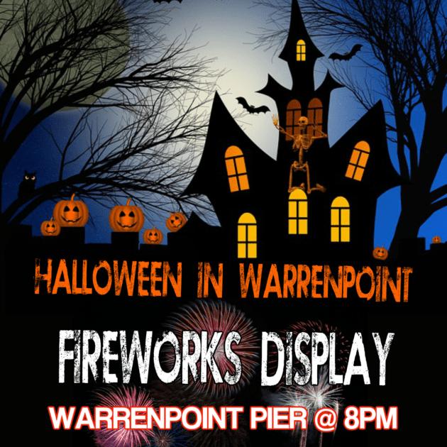 Halloween night in Warrenpoint 2018