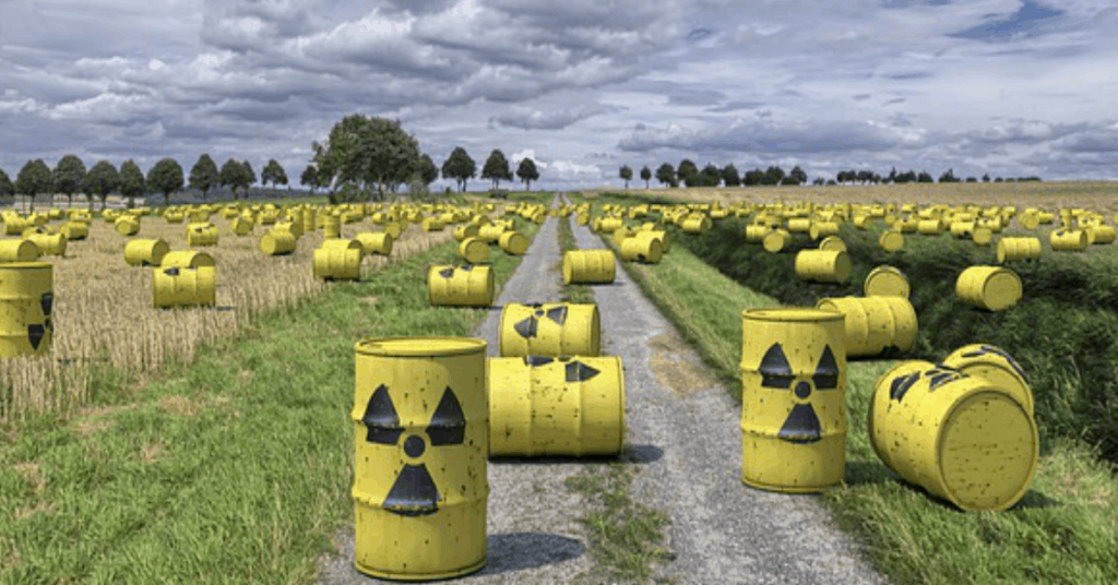 Radioactive Waste dumped in the Mournes
