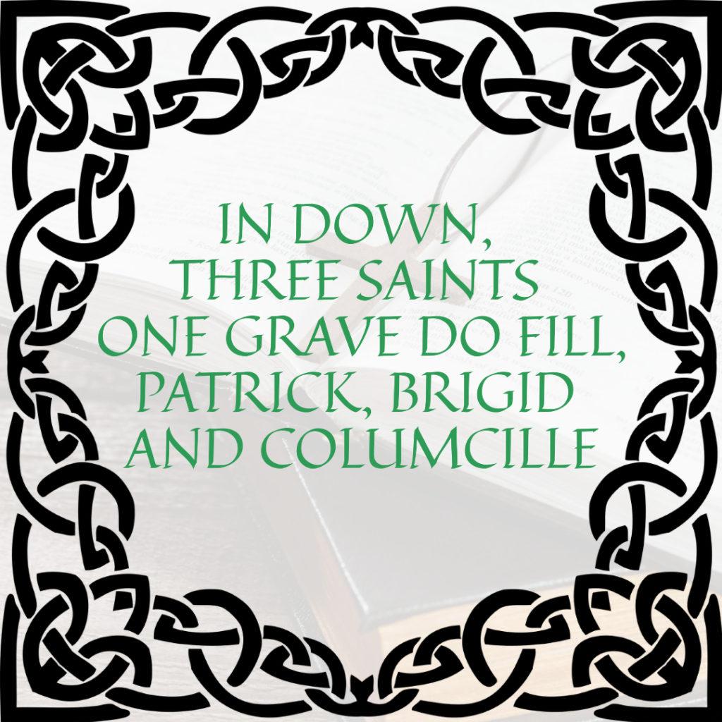 In down three saints