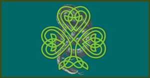 St Patrick and the snakes in Ireland