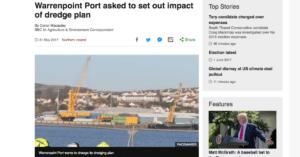 Carlingford Lough Dredging Warrenpoint Port