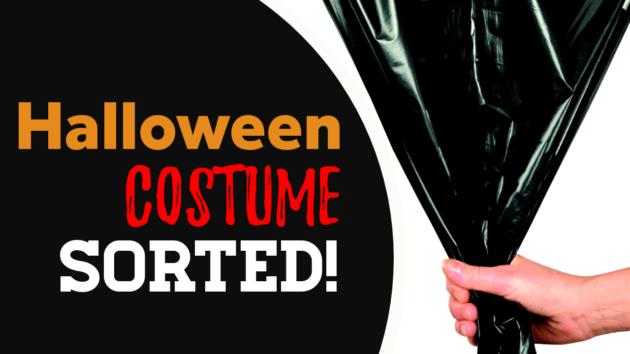 Bin Liner Halloween Costume