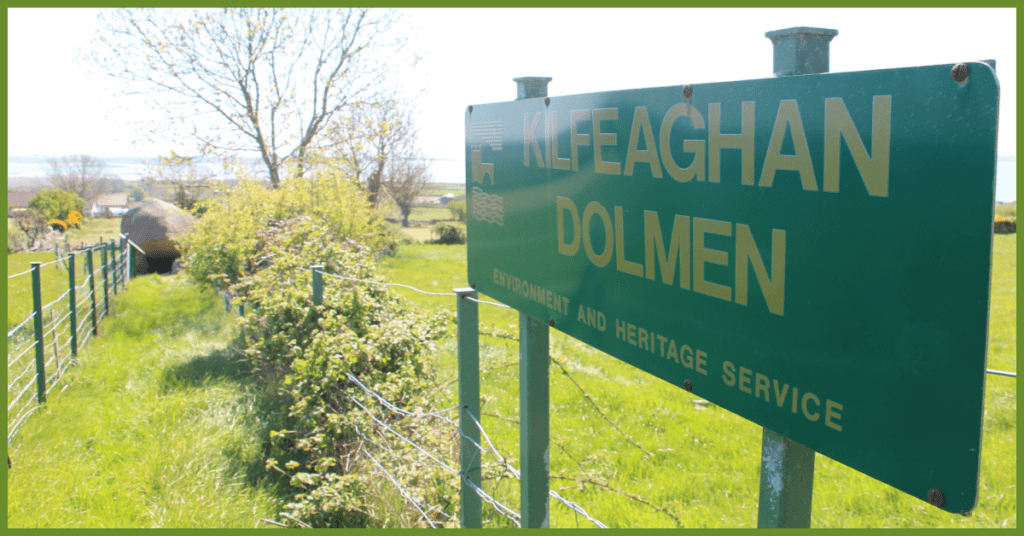 Kilfeaghan Dolmen how to get to