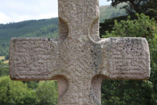 8th Century Celtic Cross Rostrevor Kilbroney Graveyard