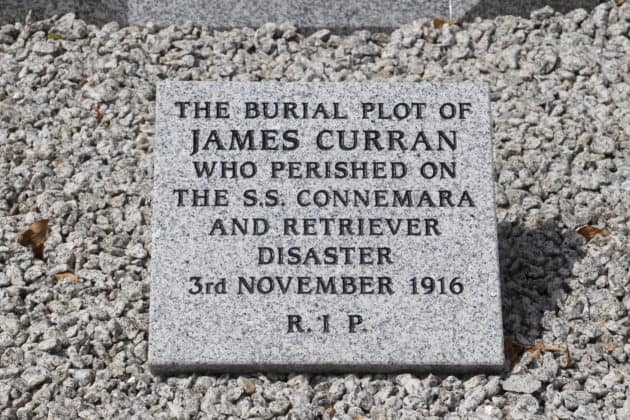 James Curran SS Connemara and Retriever