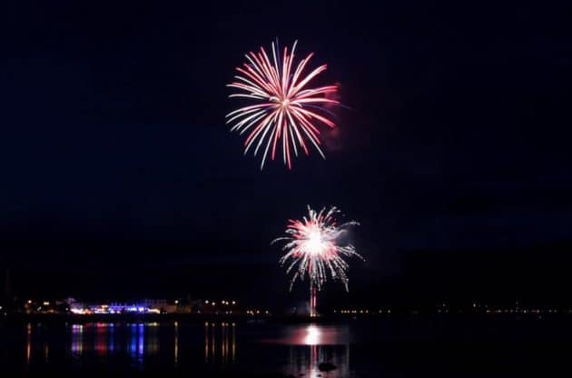 Fireworks Display in Warrenpoint 2018