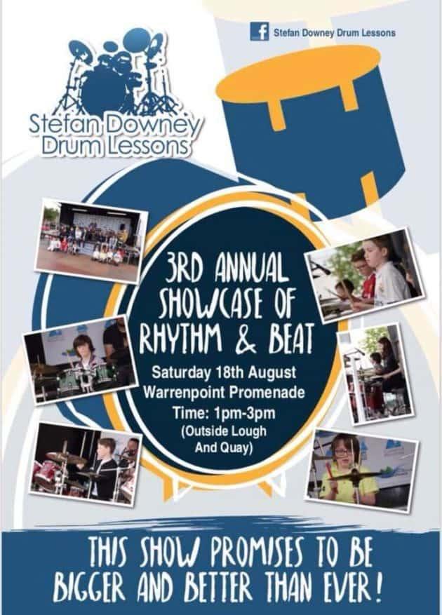 3rd Annual Showcase of Rhythm & Beat Warrenpoint | Stefan Downey