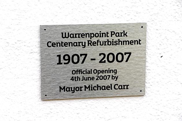Warrenpoint Municipal Park 1907 - 2007