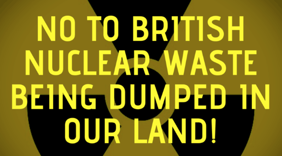 Progressive Politics NI Nuclear Waste Petition