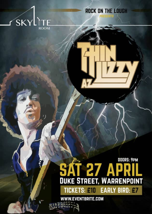 Thin Az Lizzy | Thin Lizzy Tribute Warrenpoint April 2019