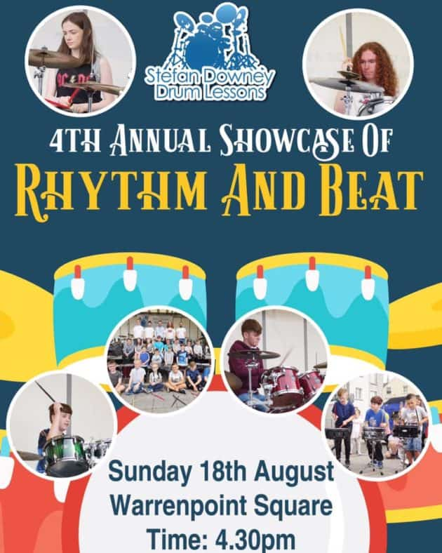 Rhythm and Beat Showcase Stefan Downey 2019