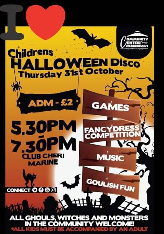 Community Centre for Warrenpoint Halloween Disco