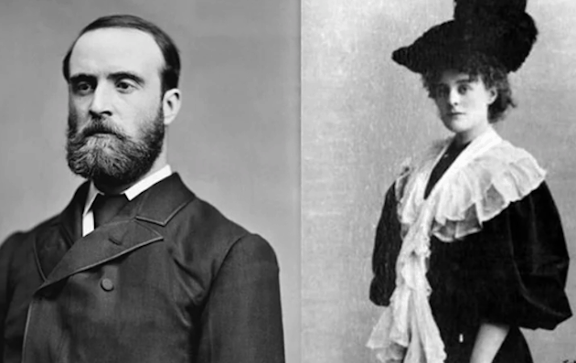 Charles Stewart Parnell and Katharine O'Shea