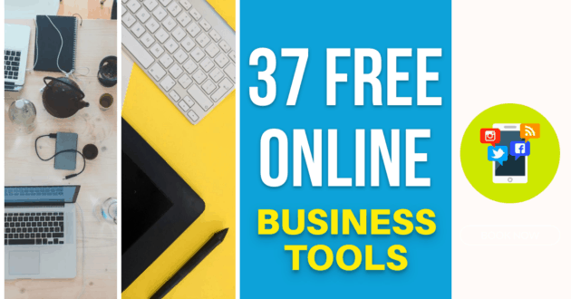 37 Free Online Business Tools