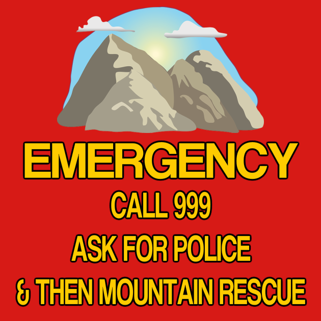 Mountain Rescue Emergency Call 999