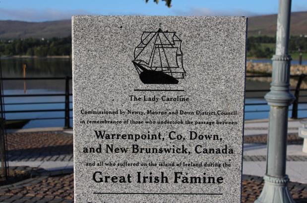 Famine Memorial Warrenpoint