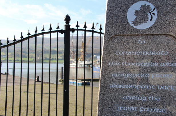 Carlingford Lough and The Famine