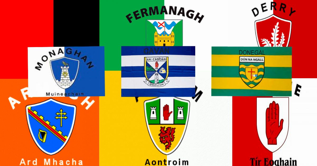 Flags for Northern Ireland GAA Flags Ulster Teams