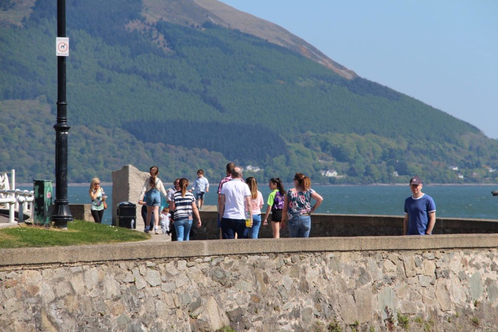 Warrenpoint Promenade Carlingford Lough