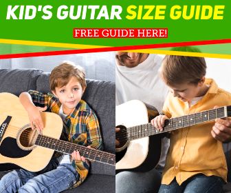 Adrian Curran Kids Guitar Size Guide
