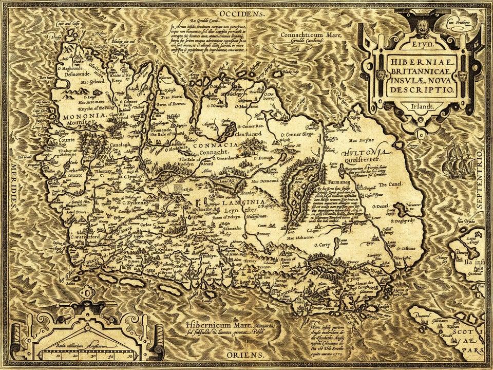 Earliest Map of Ireland
