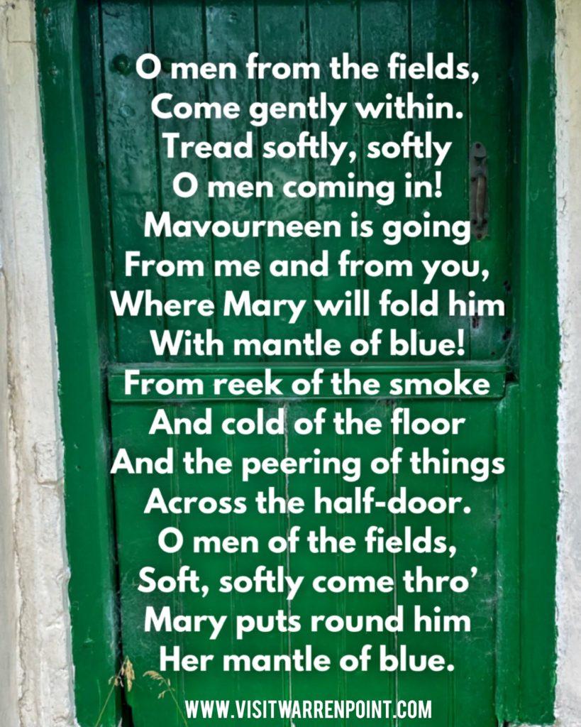 The Cradle Song Padraic Colum