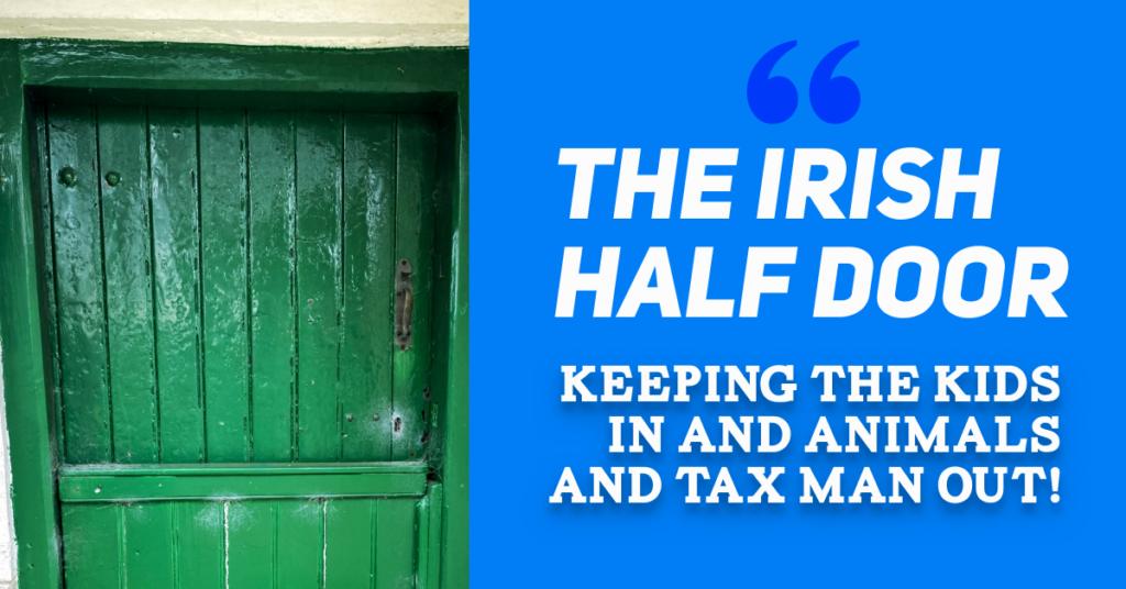 The Irish Cottage Half Door