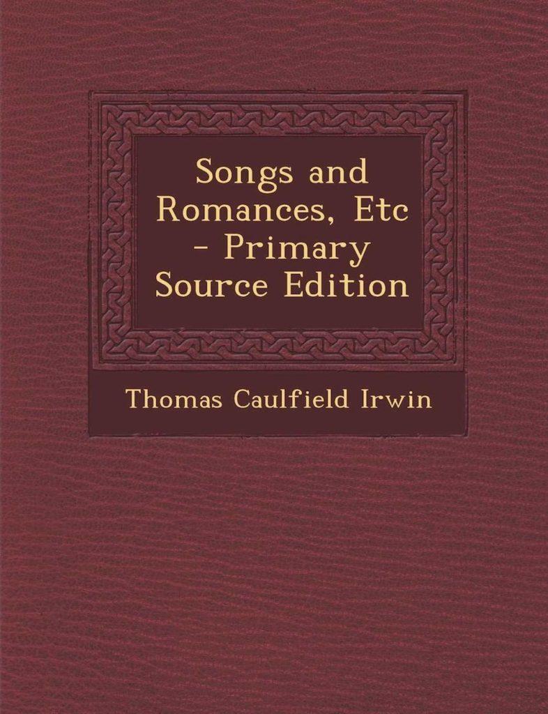 Thomas Caulfield Irwin Irish Poet