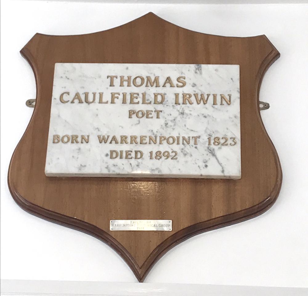 Thomas Caulfield Irwin Warrenpoint
