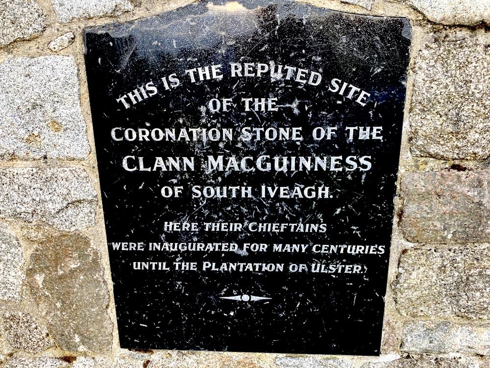 MacGuinness Warrenpoint's Coronation Stone