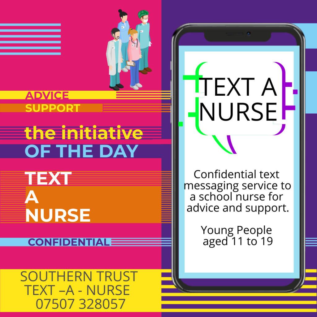 Text a nurse advice service for Northern Ireland teens service